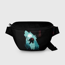 Поясная сумка Princess Mononoke цвета 3D-принт — фото 1