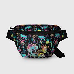 Поясная сумка Monsters Rick and Morty цвета 3D — фото 1