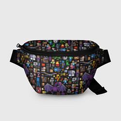 Поясная сумка MINECRAFT цвета 3D — фото 1