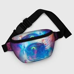 Поясная сумка Космонавт - космос цвета 3D — фото 2