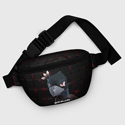 Поясная сумка Brawl Stars Crow Ворон цвета 3D — фото 2