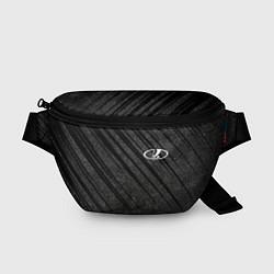 Поясная сумка LADA цвета 3D-принт — фото 1