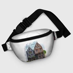 Поясная сумка Амстердам цвета 3D — фото 2