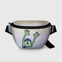 Поясная сумка Майк Вазовски цвета 3D-принт — фото 1