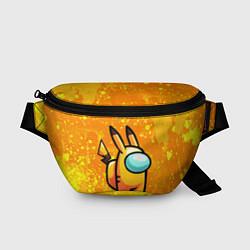 Поясная сумка AMONG US - Pikachu цвета 3D — фото 1