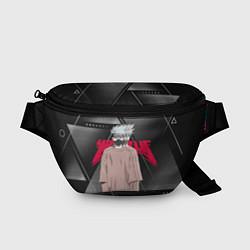 Поясная сумка Какаши Хатаке цвета 3D-принт — фото 1