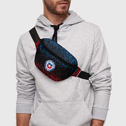 Поясная сумка Сборная Чили цвета 3D-принт — фото 2