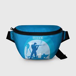 Поясная сумка Биатлон цвета 3D-принт — фото 1