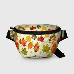 Поясная сумка Осень цвета 3D — фото 1