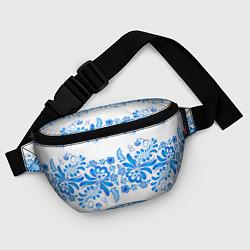 Поясная сумка Гжель цвета 3D — фото 2