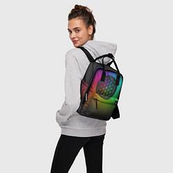 Рюкзак женский Coldplay Colour цвета 3D-принт — фото 2
