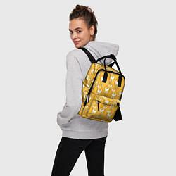 Рюкзак женский Маленькие Корги цвета 3D — фото 2