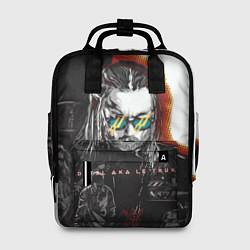 Рюкзак женский Detsl Acoustic цвета 3D-принт — фото 1