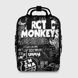 Рюкзак женский Arctic Monkeys: I'm in a Vest цвета 3D — фото 1