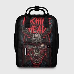 Рюкзак женский Machine Head: Blooded Skull цвета 3D-принт — фото 1