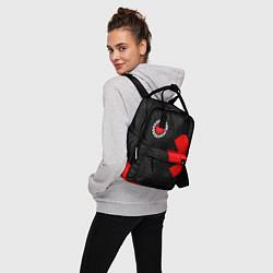 Рюкзак женский RED HOT CHILI PEPPERS цвета 3D-принт — фото 2