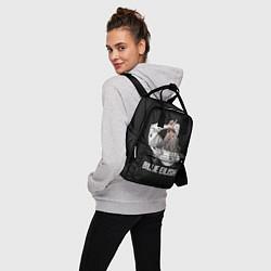 Рюкзак женский BILLIE EILISH цвета 3D — фото 2