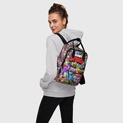 Рюкзак женский BRAWL STARS цвета 3D — фото 2