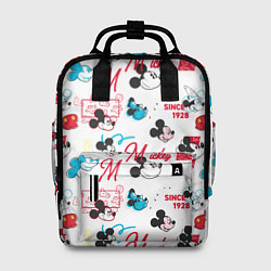 Рюкзак женский Mickey Mouse цвета 3D — фото 1