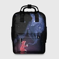 Рюкзак женский Лиса и ее дух цвета 3D — фото 1