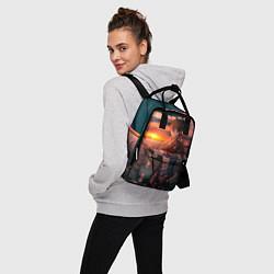 Рюкзак женский Tartaglia art цвета 3D-принт — фото 2