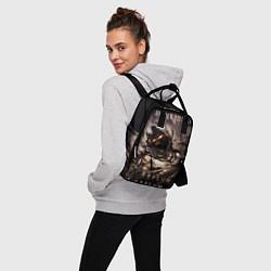 Рюкзак женский Disturbed цвета 3D-принт — фото 2