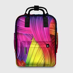 Рюкзак женский Абстракция цвета цвета 3D — фото 1
