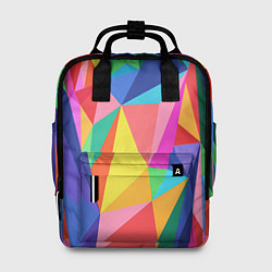 Рюкзак женский Радуга цвета 3D — фото 1