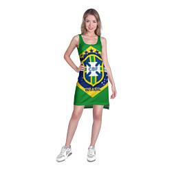 Туника женская CBF Brazil цвета 3D-принт — фото 2