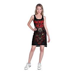 Туника женская Machine Head: Blooded Skull цвета 3D — фото 2
