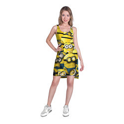 Туника женская Minions цвета 3D — фото 2