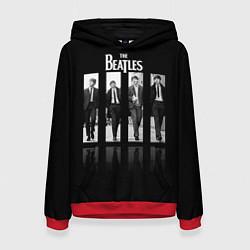 Толстовка-худи женская The Beatles: Man's цвета 3D-красный — фото 1