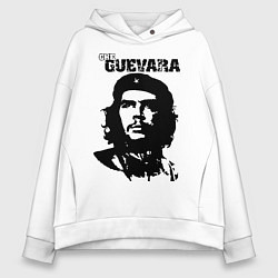 Толстовка оверсайз женская Che Guevara цвета белый — фото 1