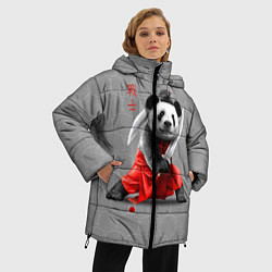 Куртка зимняя женская Master Panda цвета 3D-черный — фото 2