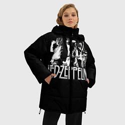 Куртка зимняя женская Led Zeppelin: Mono - фото 2