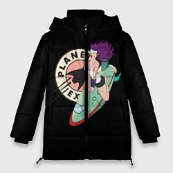 Женская зимняя 3D-куртка с капюшоном с принтом Leela Express, цвет: 3D-черный, артикул: 10127239106071 — фото 1