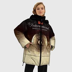 Куртка зимняя женская The International Championships цвета 3D-черный — фото 2