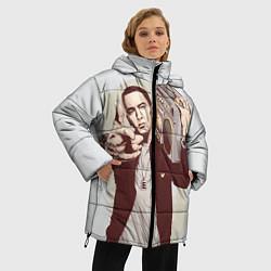 Куртка зимняя женская Eminem: Street Music цвета 3D-черный — фото 2