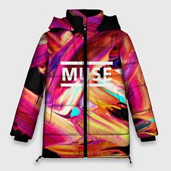 Куртка зимняя женская MUSE: Neon Colours - фото 1