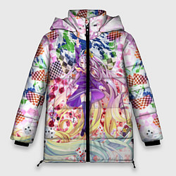 Куртка зимняя женская No Game No Life 9 цвета 3D-черный — фото 1