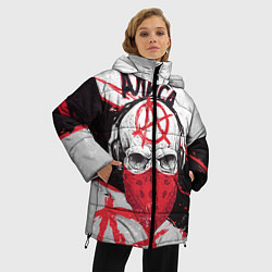 Куртка зимняя женская АлисА: Анархия цвета 3D-черный — фото 2