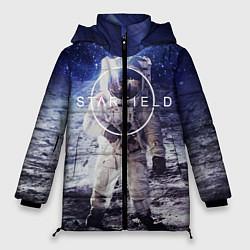 Куртка зимняя женская Starfield: Astronaut цвета 3D-черный — фото 1