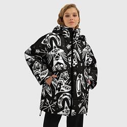 Куртка зимняя женская Сибирские мотивы - фото 2
