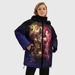 Женская зимняя 3D-куртка с капюшоном с принтом Apex Legends: Stories, цвет: 3D-черный, артикул: 10172935306071 — фото 2
