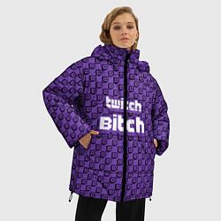 Куртка зимняя женская Twitch Bitch - фото 2