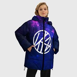 Женская зимняя 3D-куртка с капюшоном с принтом Stray Kids, цвет: 3D-черный, артикул: 10176227906071 — фото 2