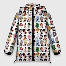 Женская зимняя куртка Моя Геройская Академия