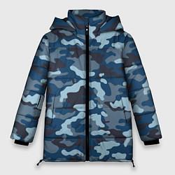 Куртка зимняя женская Камуфляж МВД цвета 3D-черный — фото 1