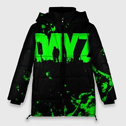 Женская зимняя 3D-куртка с капюшоном с принтом Dayz, цвет: 3D-черный, артикул: 10287511106071 — фото 1