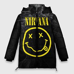 Куртка зимняя женская Nirvana Smoke цвета 3D-черный — фото 1